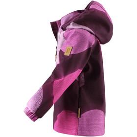 Reima Vantti Softshell Jacket Barn deep purple